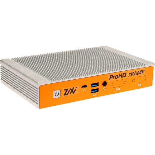 JVC Zixi Zramp 2-In/2-Out Channel Streaming Management Server