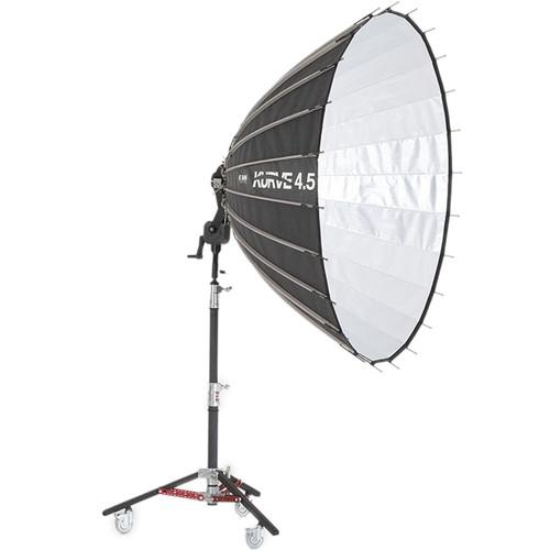 K 5600 Lighting Kurve 4.5' Parabolic Umbrella