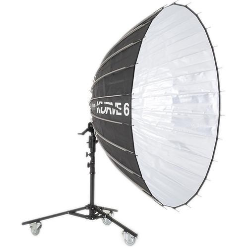 K 5600 Lighting Kurve 6' Parabolic Umbrella