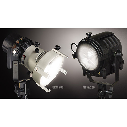 K 5600 Lighting Joker 200 & Alpha 200 2-Light Evolution Kit