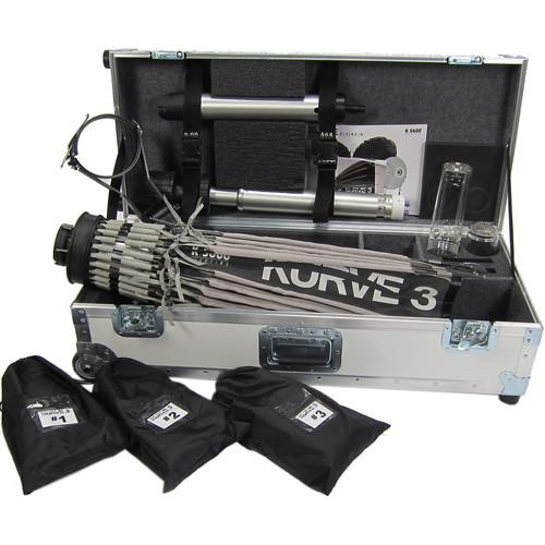 K 5600 Lighting Kurve 3 Umbrella Kit