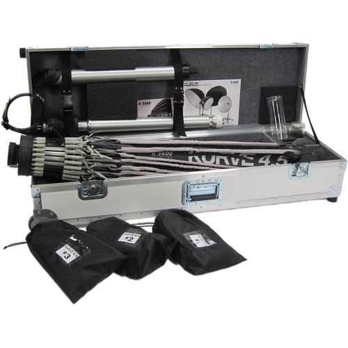 K 5600 Lighting Kurve 4.5 Umbrella Kit