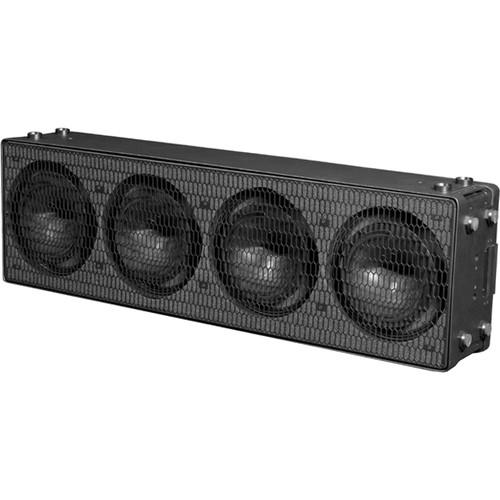 K-Array KH7 Digital Steerable Powered Slim Line Array Element (Black)