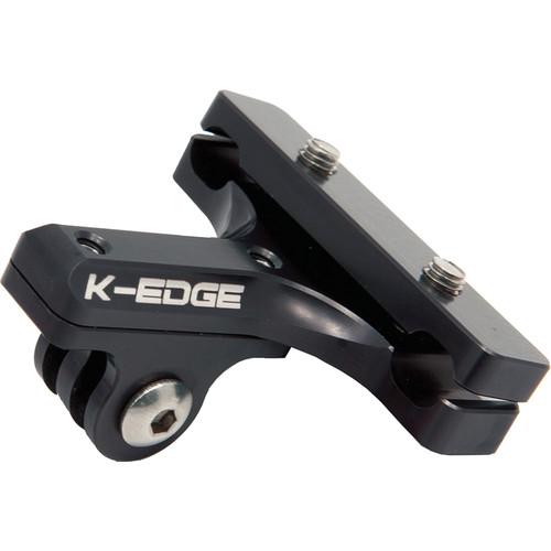 K-EDGE GO BIG Pro Saddle Rail Mount for GoPro HERO and Garmin VIRB (Black)