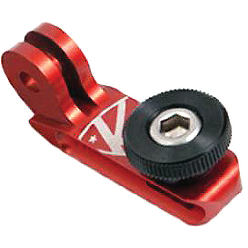 "K-EDGE GO BIG Universal 1/4""-20 Adapter for GoPro Mounts (Red)"