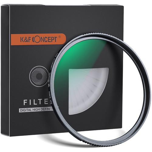 K&F Concept 67mm Nano-X UV Green Multi-Coated Super Hard HD Water Proof German Optics Schott B270 Filter