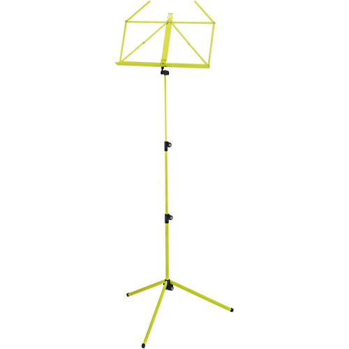 K&M 100/1 Music Stand (Yellow Green)