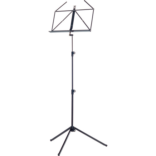 K&M Music Stand with Display (Black)
