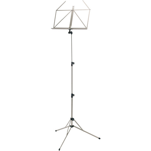 K&M 100/5 Music Stand (Nickel-Colored)