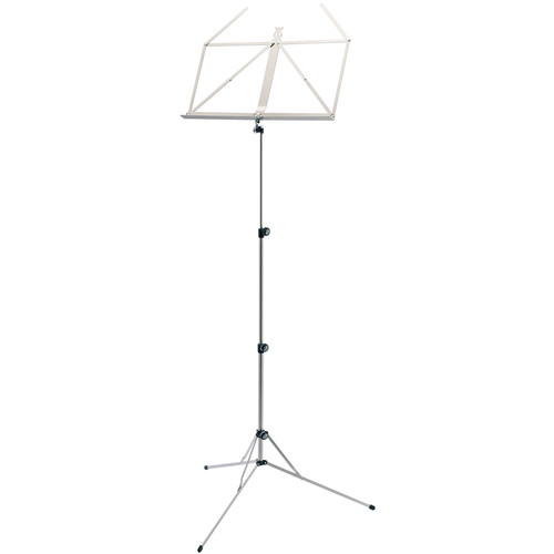 K&M 101 Music Stand (Nickel-Colored)