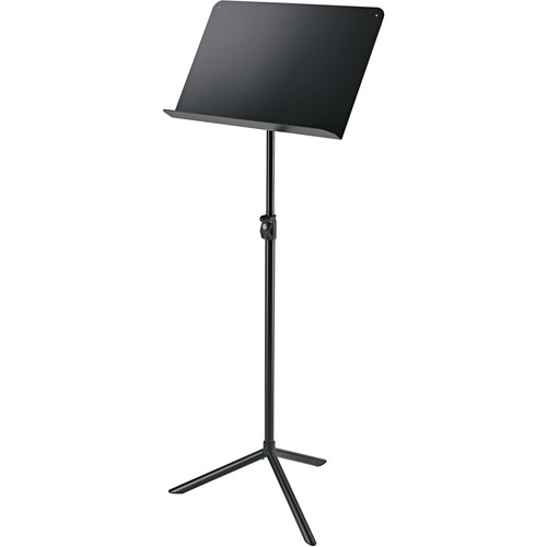K&M 11930 Overture Orchestra Music Stand (Black)