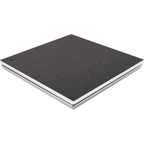 K&M Conductor Podium(Carpeted) (Aluminum)
