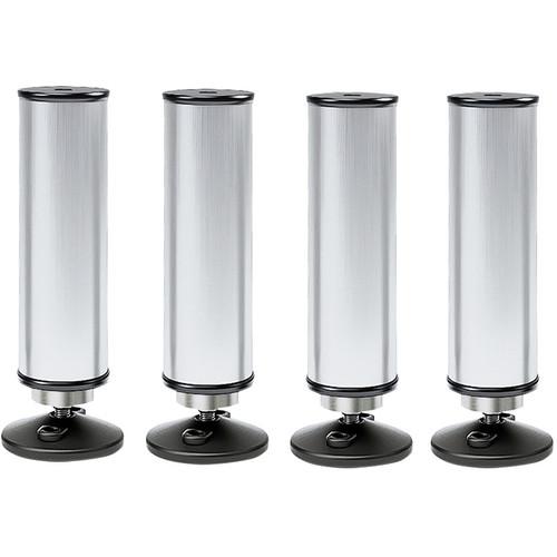 K&M Feet for Conductor Podium/4-Short (Aluminum)