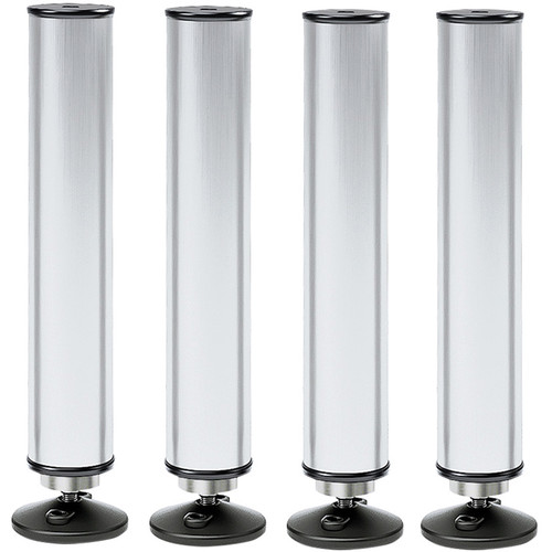 K&M Feet for Conductor Podium/4-Long (Aluminum)