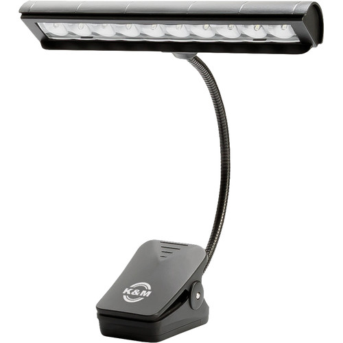 K&M Orchestra Music Stand Light (Black)