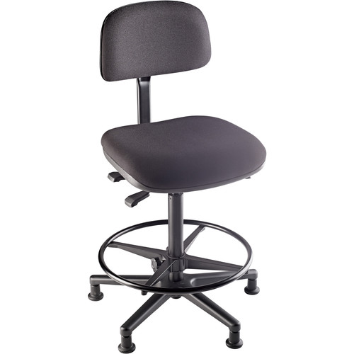 K&M 13480 Chair for Kettledrums and Conductor (Black)