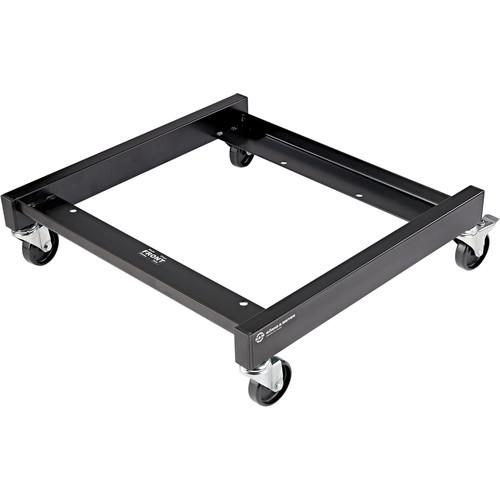 K&M 13490 Chair Cart (Black)