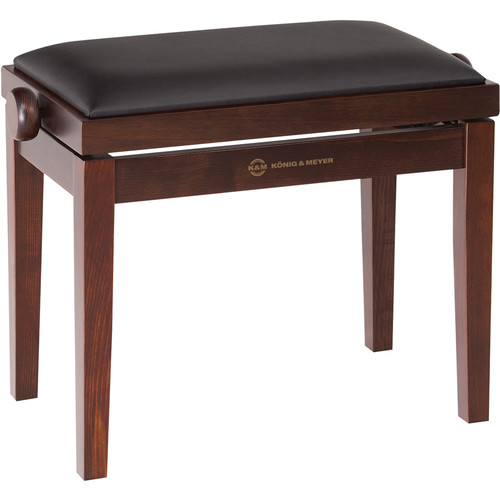 K&M 13720 Piano Bench Wooden Frame with Rosewood Matte Finish