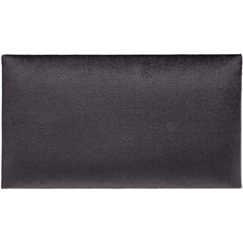 K&M 13800 Velvet Seat Cushion (Black)