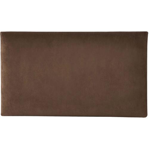 K&M 13801 Velvet Seat Cushion (Brown)