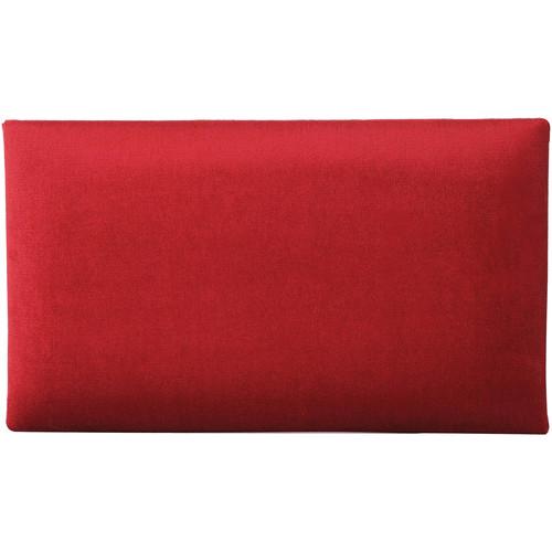 K&M 13802 Velvet Seat Cushion (Red)