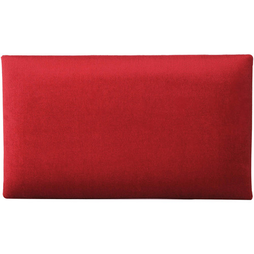 K&M 13802 Velvet Seat Cushion (Red)