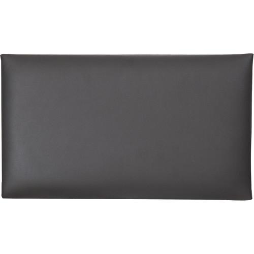 K&M 13820 Imitation Leather Seat Cushion (Black)