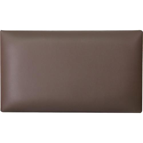 K&M 13821 Imitation Leather Seat Cushion (Brown)