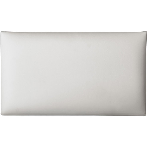 K&M 13824 Imitation Leather Seat Cushion (White)