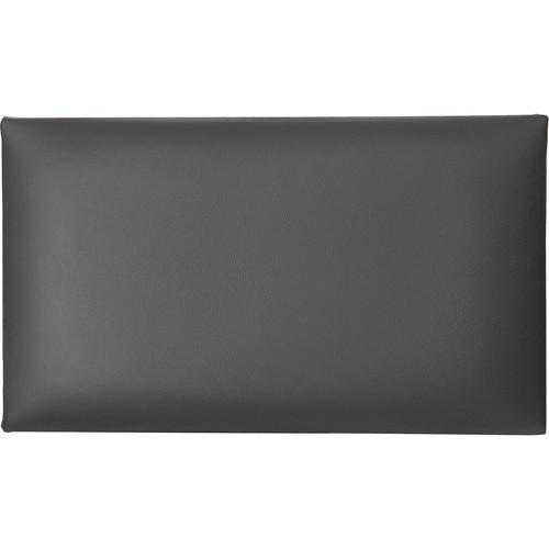 K&M 13840 Leather Seat Cushion (Black)