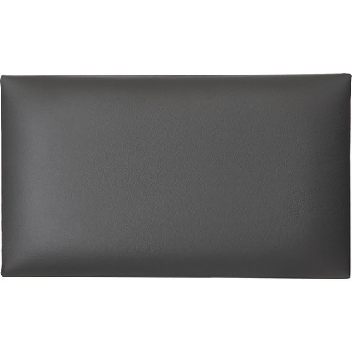 K&M 13840 Leather Seat Cushion (Black)