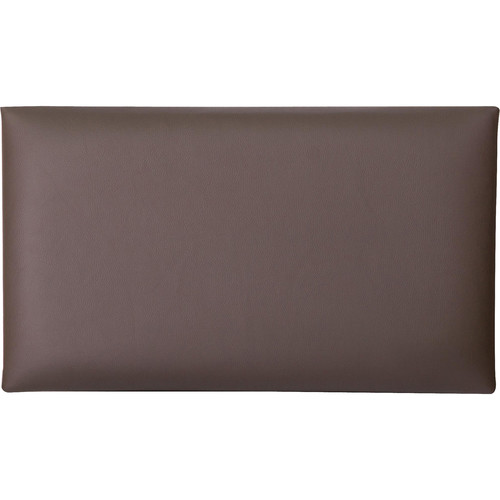K&M 13841 Leather Seat Cushion (Brown)