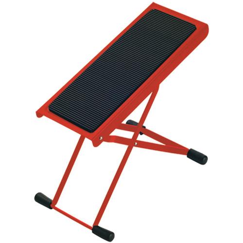 K&M 14670 Height-Adjustable Footrest (Red)