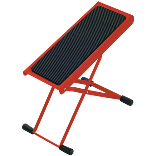 K&M 14670 Height-Adjustable Footrest (Red)