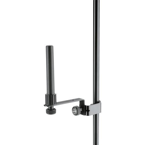 K&M Plastic Peg Holder for Bass, Bohm and Cross Flutes (Black)
