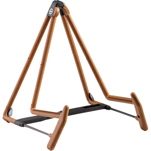 K&M 17580 Heli 2 Acoustic Guitar Stand (Cork)