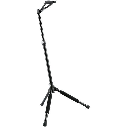K&M 17680 Memphis 10 Guitar Stand (Black)