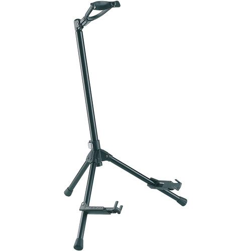 K&M 17685 Memphis 20 Guitar Stand (Black)