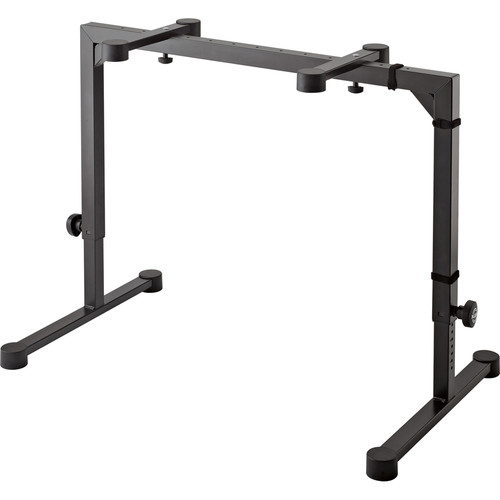 K&M 18810 Omega Table-Style Keyboard Stand (Black)