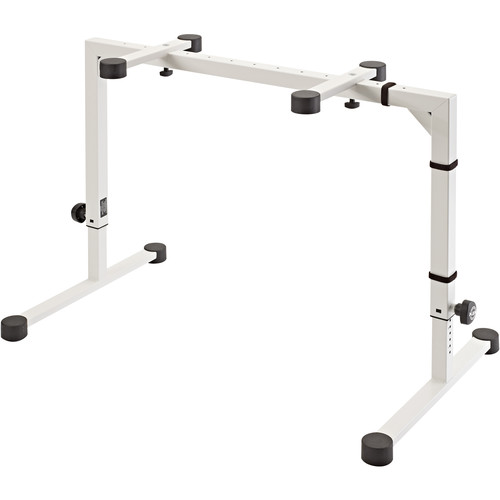 K&M 18810 Omega Table-Style Keyboard Stand (White)