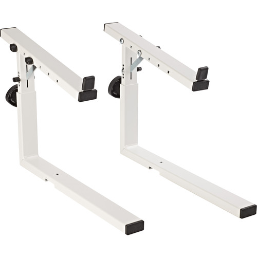 K&M 18813 Stacker Second-Tier Add-On for the Omega 18810 Keyboard Stand (White)