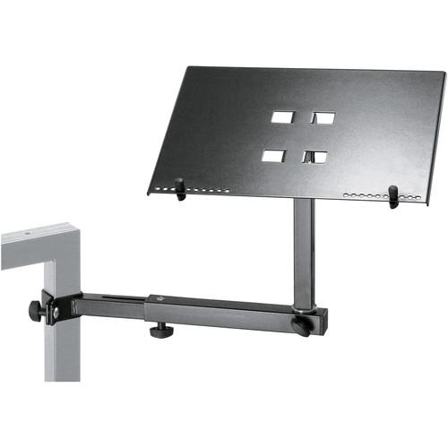 K&M Laptop Shelf/Keyboard Stand (Black)