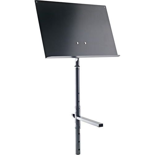 K&M Height-Adjustable Sheet Music & Concept Holder (Black)
