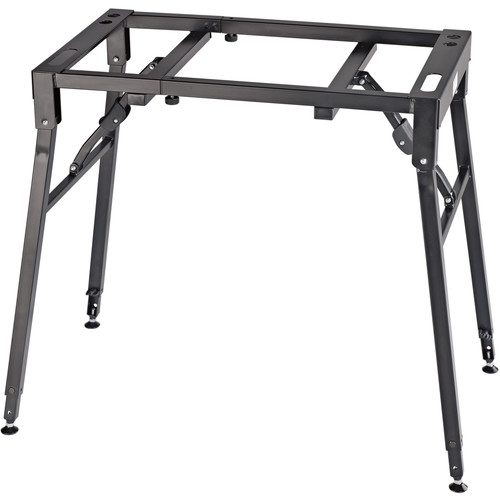 K&M Table-Style Keyboard Stand (Steel) (Black)