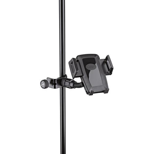 K&M Smartphone Holder for Select Stands (Black)