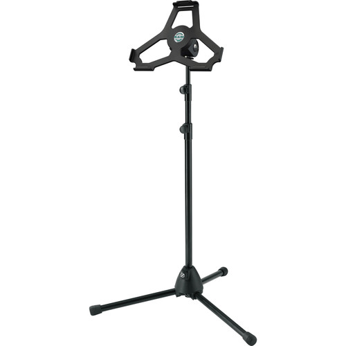 K&M Height-Adjustable Stand for iPad Air 2 (Black)