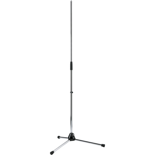 "K&M 201A/2 Microphone Stand (35-63"", Chrome)"