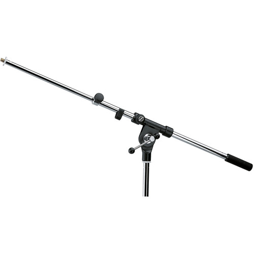 """K&M 211/1 Two-Piece Telescoping Boom Arm with 3/8"""" Thread (Chrome)"""