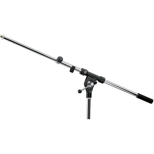 "K&M 211 Boom Arm with 3/8"" Thread (Black)"