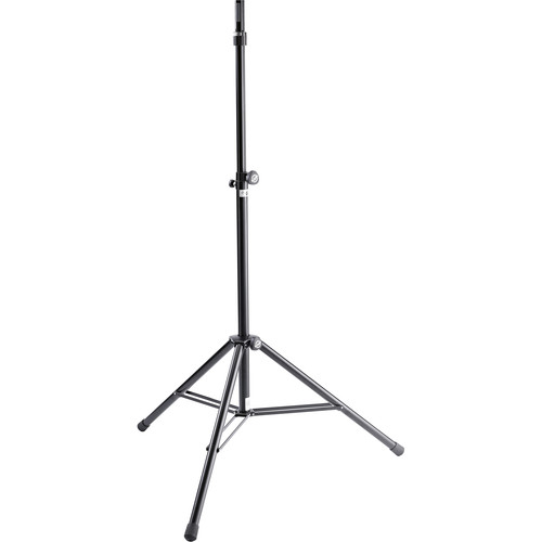 K&M 21467 Starline Ring Lock Speaker Stand (Black)